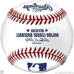1/2 DOZEN - QTY 6 - MLB RAWLINGS OFFICIAL MAJOR LEAGUE BASEB