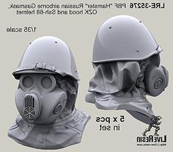 Live Resin 1:35 PBF Hamster Russian Airborne Gasmask + Hood