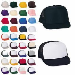 1 Dozen Trucker Baseball Hats Caps Foam Mesh Blank Adult You