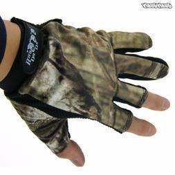 1 PAIR Anti-Slip 3 Cut Half Finger <font><b>Gloves</b></font