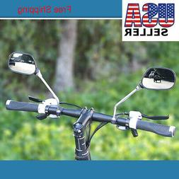 2 1-Pair Two Pack Mirrycle Mountain Mirrors Bar End fits Hybrid Commuter MTB