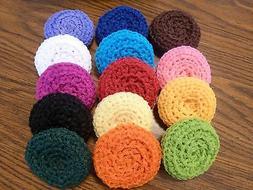 10 LARGE Nylon Net Scrubbie - Scrubby - Scrubber * Color Cho