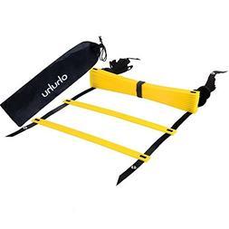 Ohuhu Agility Ladder Speed Training Exercise Ladder for Socc