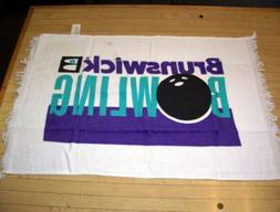 "2 ""Two"" Brunswick Bowling Towels 16"" X 26"" Bowler Gift Free"
