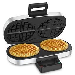 2 Plates Waffle Maker - Elechomes 2-Piece Classic Belgian Wa