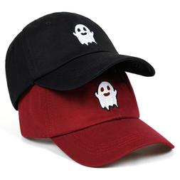 2019 Hot Ghost Embroidered Dad Hat Cotton Cap Adjustable Baseball Cap Sun Hats