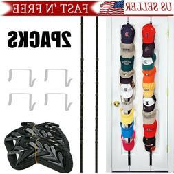 2PACKS Baseball Cap Hat Holder Rack Storage Organizer Over t