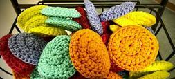 for $5.00 Crochet Nylon Net Dish Scrubbies Pot & Kitchen Sc