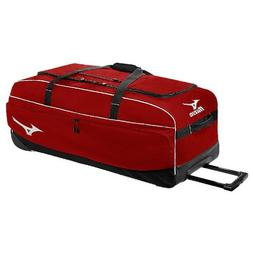 Mizuno 360178 Red MX Equipment Wheeled Bag Baseball & Softba