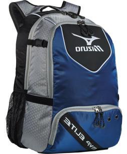 Mizuno 360190 MVP Elite Navy/Black Backpack Batpack Baseball