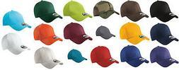 New Era 39THIRTY Flex Structured Stretch Hat Blank Cap - Bla