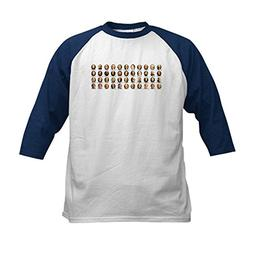 CafePress - 44 us presidents with names n Kids Baseball Jers