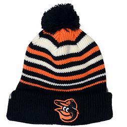 47 Brand Baltimore Orioles Knit Beanie Black/Orange/White On