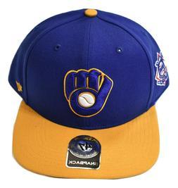 '47 Brand Mens MLB Milwaukee Brewers Baseball Snapback Cap H