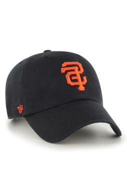 Women's '47 Clean Up San Francisco Giants Baseball Cap - Bla