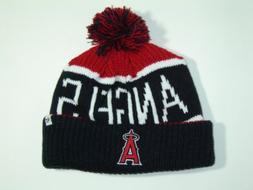 47 Brand MLB California Angels Knit Pom Beanie Hat