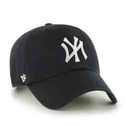 '47 Brand New York Yankees Black-White Cleanup Hat