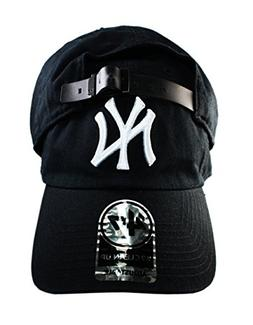 47 Brand New York Yankees Black One Size with Leather Belt