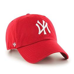 '47 Brand New York Yankees Red Clean Up Adjustable Hat