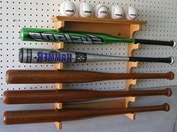 5 Baseball Bat Display Rack Hanger Holder Alternative To Dis