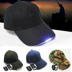 545887b30 5 LED Light Baseball Cap Glow Hat Fishin...