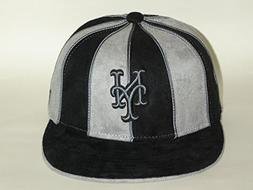 New Era 59Fifty MLB New York Mets 12 Pannel Black Fitted Cap