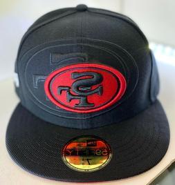 New Era 59Fifty NFL Cap San Francisco 49ers Hat Bk Rd Double