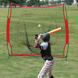 7×7' Baseball Softball Practice Hitting Batting Training Ne