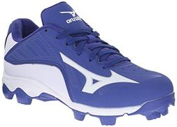 Mizuno 9 Spike ADV YTH FRHSE 8 RY-WH Youth Molded Cleat , Ro