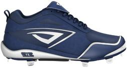 3N2 5935-0306-95 Womens Rally Metal Fastpitch Shoe Navy And