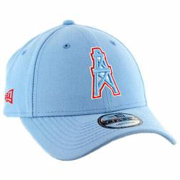 9forty houston oilers snapback hat sky blue