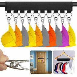 Cap Rack Closet Hanger System Storage 10 Caps Organizer Door