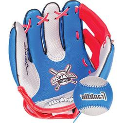 Franklin Sports Air Tech Soft Foam Baseball Glove and Ball S