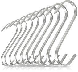 Pro Chef Kitchen Tools Flat Hanging Hooks - Pot Racks S Hook