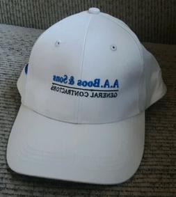 A A BOOS & SONS GENERAL CONTRACTORS Promo BASEBALL CAP Hat S