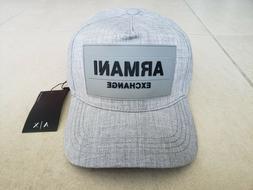 Armani Exchange A|X Men's Baseball Cap/Hat Gray