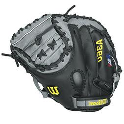 Wilson A360 Baseball Catcher's Mitt- Right Hand throw, Grey/