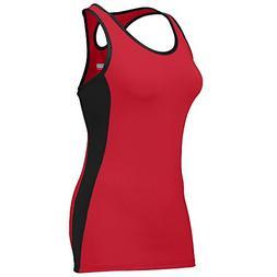 Augusta Sportswear Girls' ACTION JERSEY M Red/Black