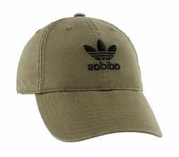 adidas Women's Originals Relaxed Fit Strapback Cap, Olive Ca