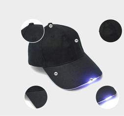 Adjustable Neutral Baseball Cap with 5LED Light Hat Outdoor