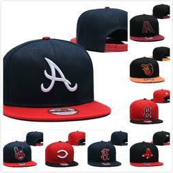 Adjustable Snapback Hat Hip Hop Baseball Cap Hats Plain Flat