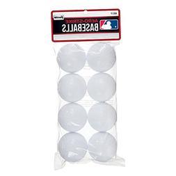 Franklin Sports Aero-Strike Plastic Baseballs - Pack of 8