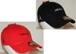 Air Jordan Unisex Jumpman Cap / Hat NEW Black OR Red Nike St