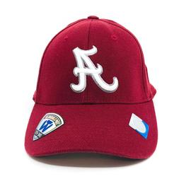 Alabama Crimson Tide Top of the World Dynasty Fitted Hat Bas