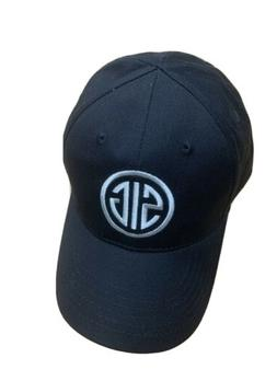 Sig Sauer All Black With White Logo Baseball Cap Buckle Adj