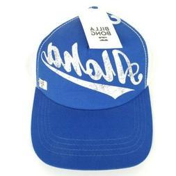 BillaBong Aloha Forever Blue SnapBack Trucker Hat Cap Mesh S