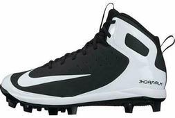 Nike Alpha Huarache Pro Mid MCS BG 923434-011 Black White Yo