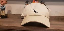 Nautica Anchor J-Class Cotton Cap Baseball Hat  - OAT - NEW!