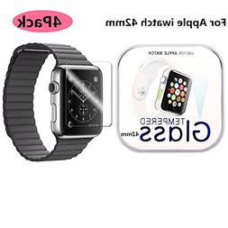 AOSOK Apple Watch 42mm Screen Protector ,     Full Coverage