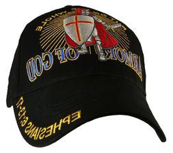 ARMOR OF GOD With Knight CHRISTIAN HAT BASEBALL CAP Ephesian